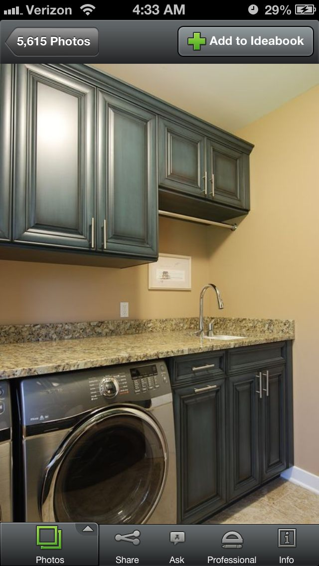 Laundry Room With Images Blue Laundry Rooms Small Laundry Room Organization Laundry Room Cabinets