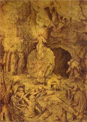 The Resurrection of Christ - Pieter Bruegel the Elder