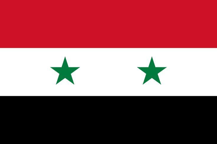 Flag Of Syria Syria Flag Syrian Flag Flags Of The World