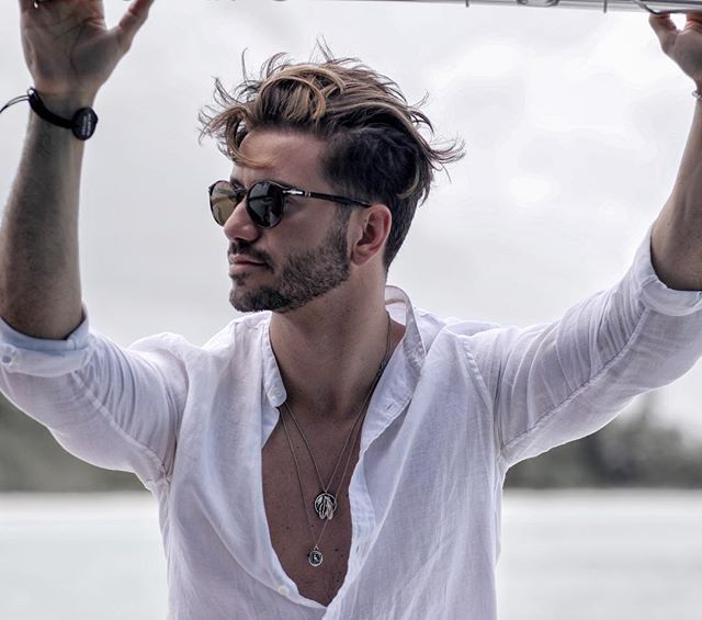 Mens Hairstyles With Beard, Cool Mens