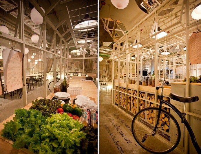 Good Unique Restaurants Part - 11: 19 Most Hilarious Restaurant Interior Design Ideas Around The World