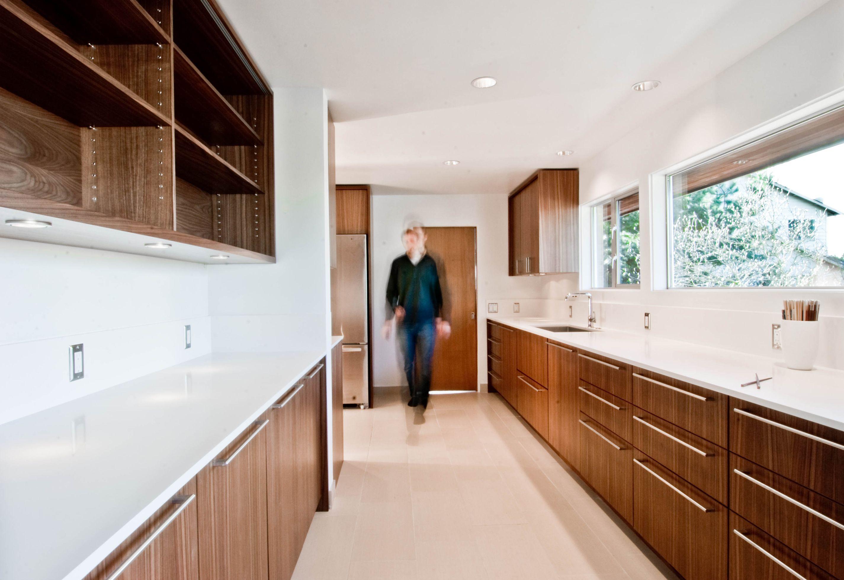 modern walnut kitchen designbuild llc cabinetryspecial