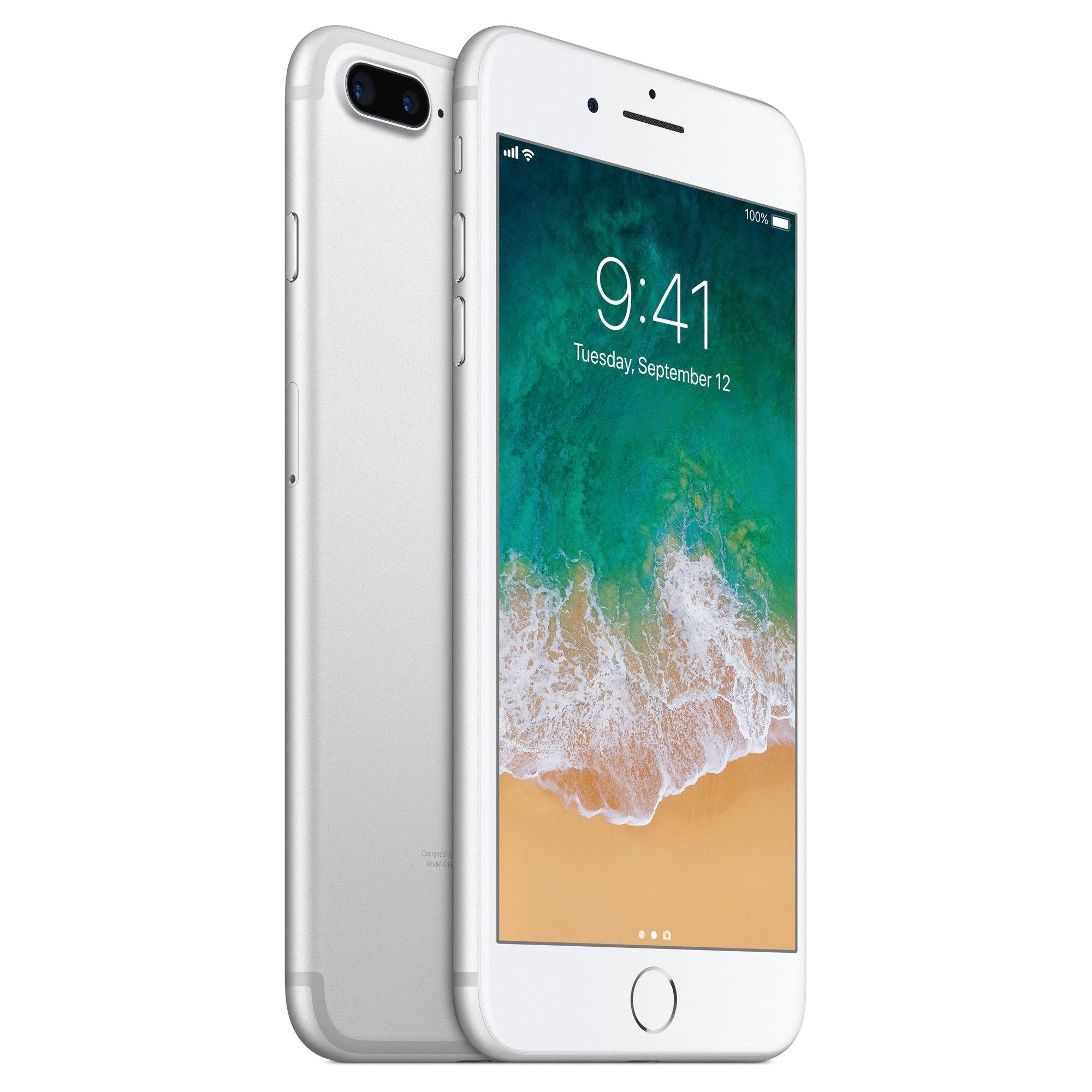 Apple Iphone 7 Plus 128gb Silver Iphone Apple Iphone 6s Plus