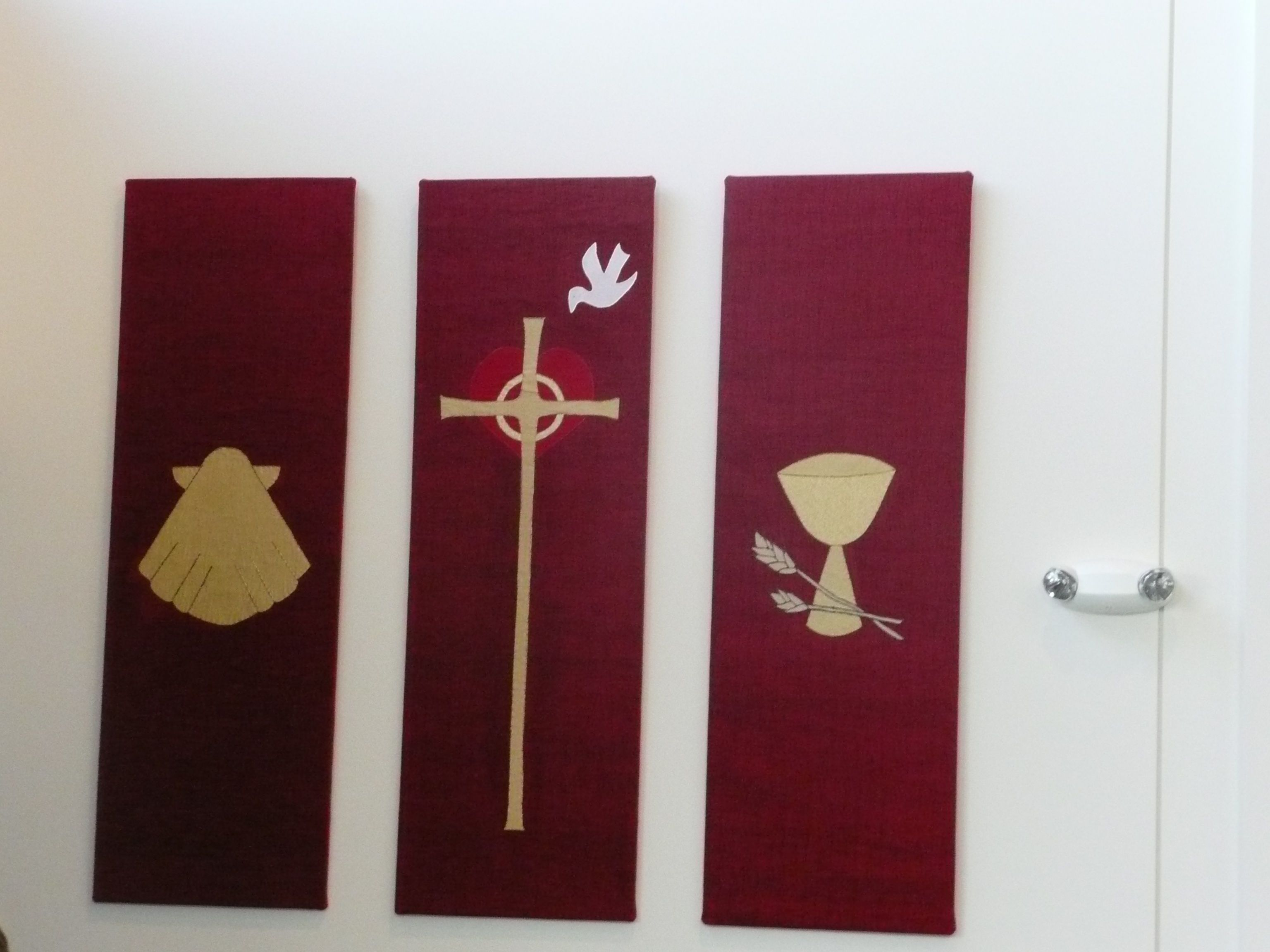 Welcome banners at lutheran church of the redeemer set of 6 welcome banners at lutheran church of the redeemer set of 6 fabric over buycottarizona Image collections