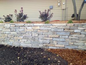Chilton Sandy Creek Rock Retaining Wall in Eagan Minnesota