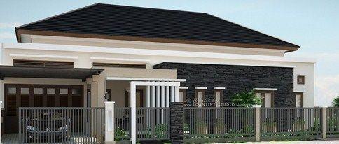 Contoh-Contoh Gambar Rumah Minimalis Satu Lantai Inspiratif 4 - Tropis Modern 2 & Contoh-Contoh Gambar Rumah Minimalis Satu Lantai Inspiratif 4 ...
