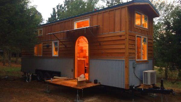 La Luna Llena Tiny House Has An Artistic Touch Tiny House Tiny House Cabin Tiny Living