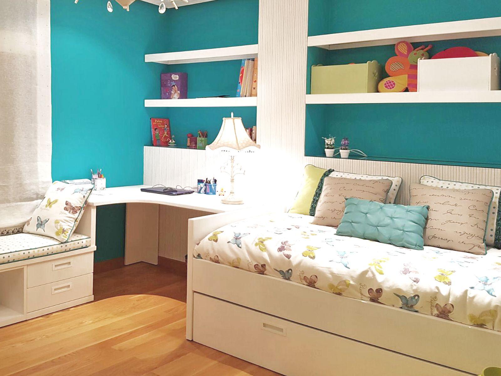 Dise O De Dormitorios Infantiles Papel Pintado Interiorismo  ~ Dormitorios Infantiles A Medida