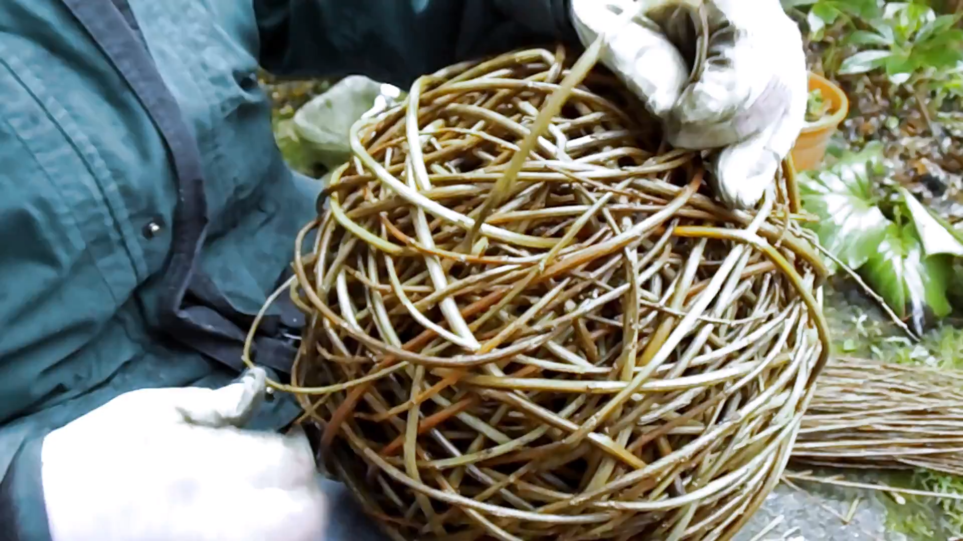 Willow Ball - Weaving
