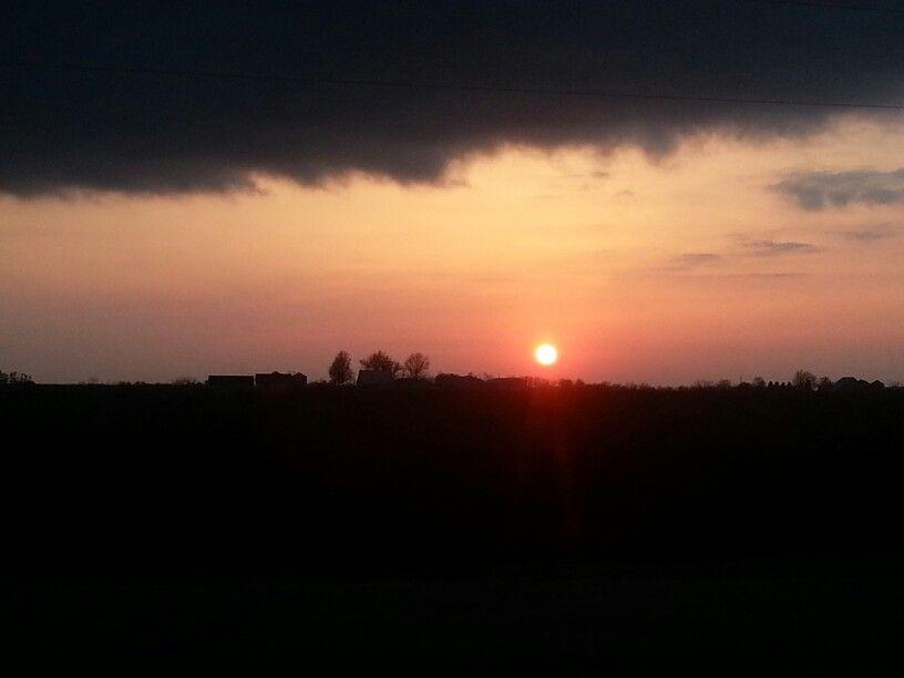 Milo,IA sunset