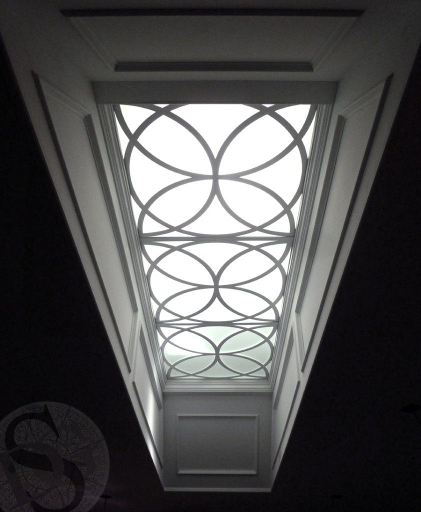 Sky Light W Lens With Images Skylight Design Roof Light Leaded Glass