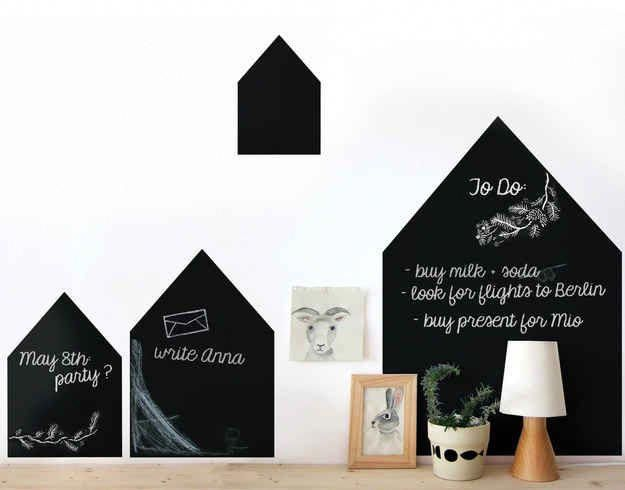 Yes you can haggle, you can also get arrested. A chalkboard village you can doodle on. Nuukk on Etsy # ...