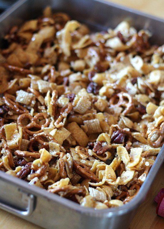 frito snack mix recipe completed pinterest snacks snack