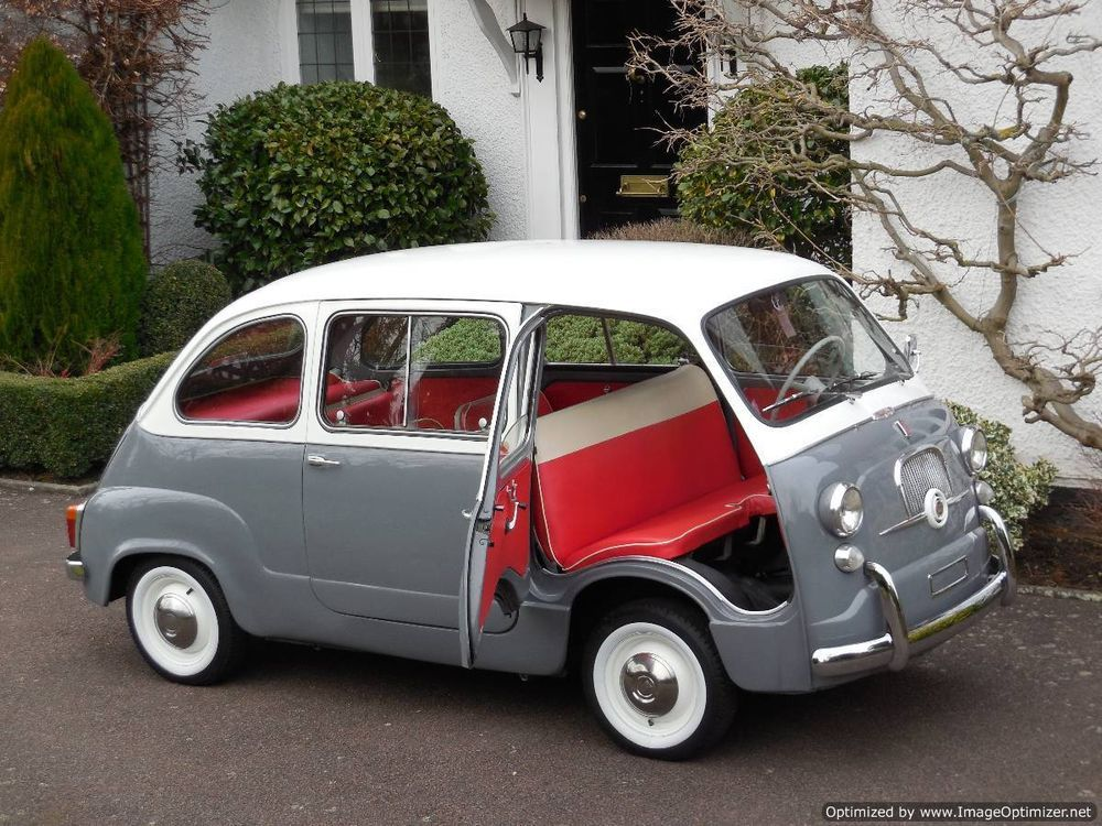 fiat 600d multipla mpv classic lhd 1963 2 owners time warp mint fiat cars and fiat 600. Black Bedroom Furniture Sets. Home Design Ideas