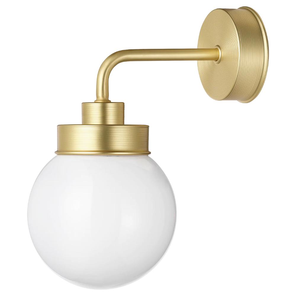 Illuminazione Bagno A Parete frihult lampada da parete - color ottone nel 2020 | lampade