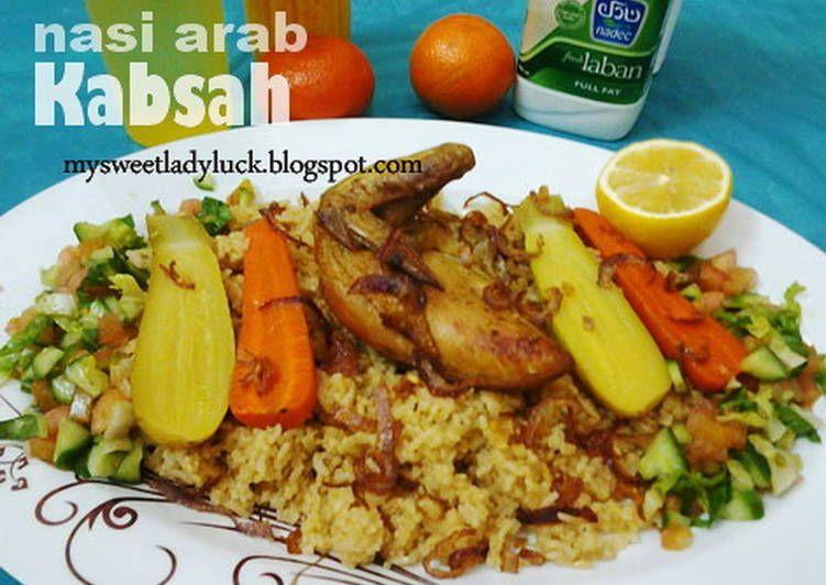 Resep Nasi Arab Kabsah Chicken Oleh Mysweet Ladyluck Resep Resep Masakan Indonesia Resep Masakan Makanan Dan Minuman