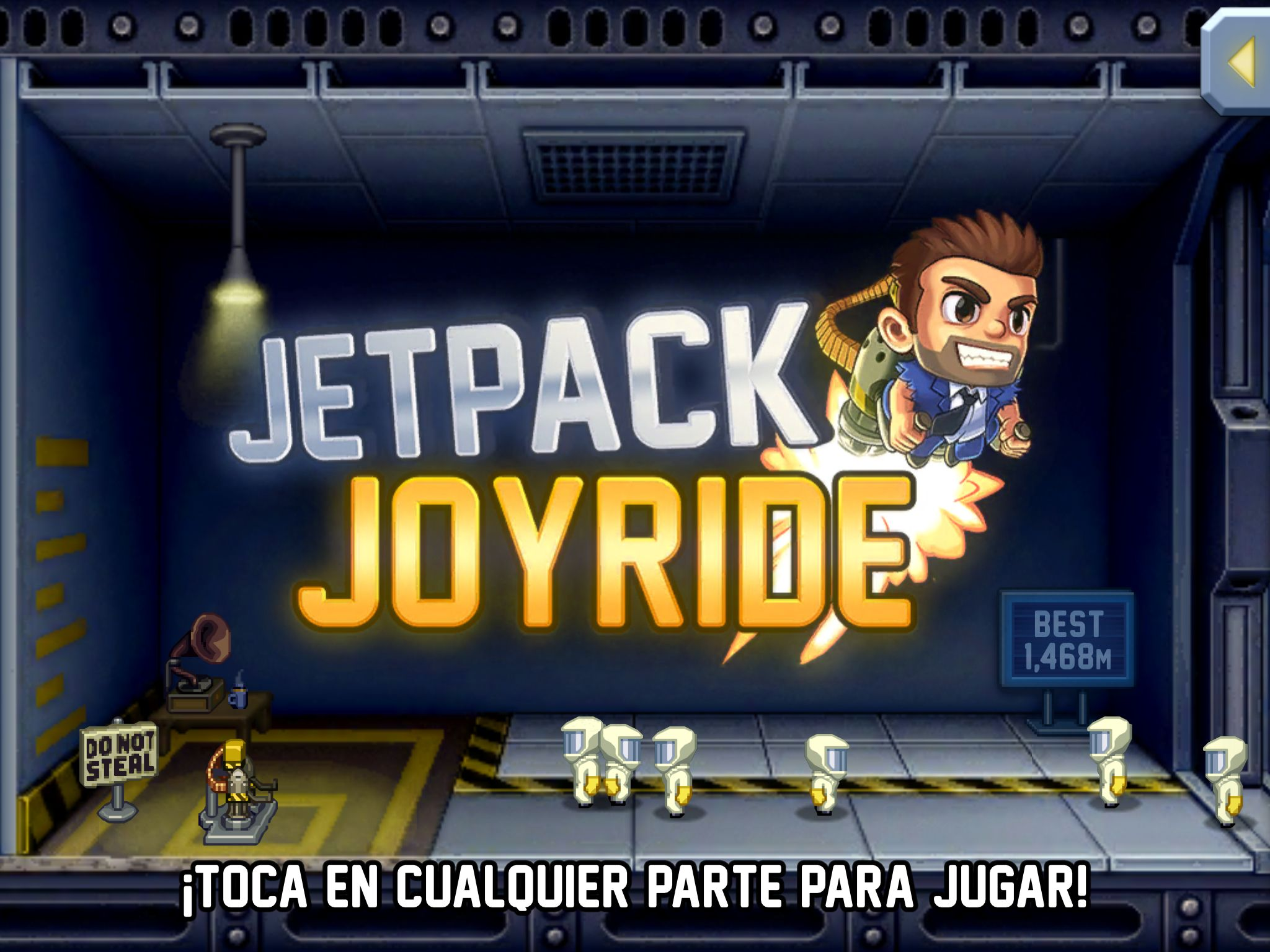 Jetpack Joyride Juegos Para Moviles Mochilas De Cohete Emulador