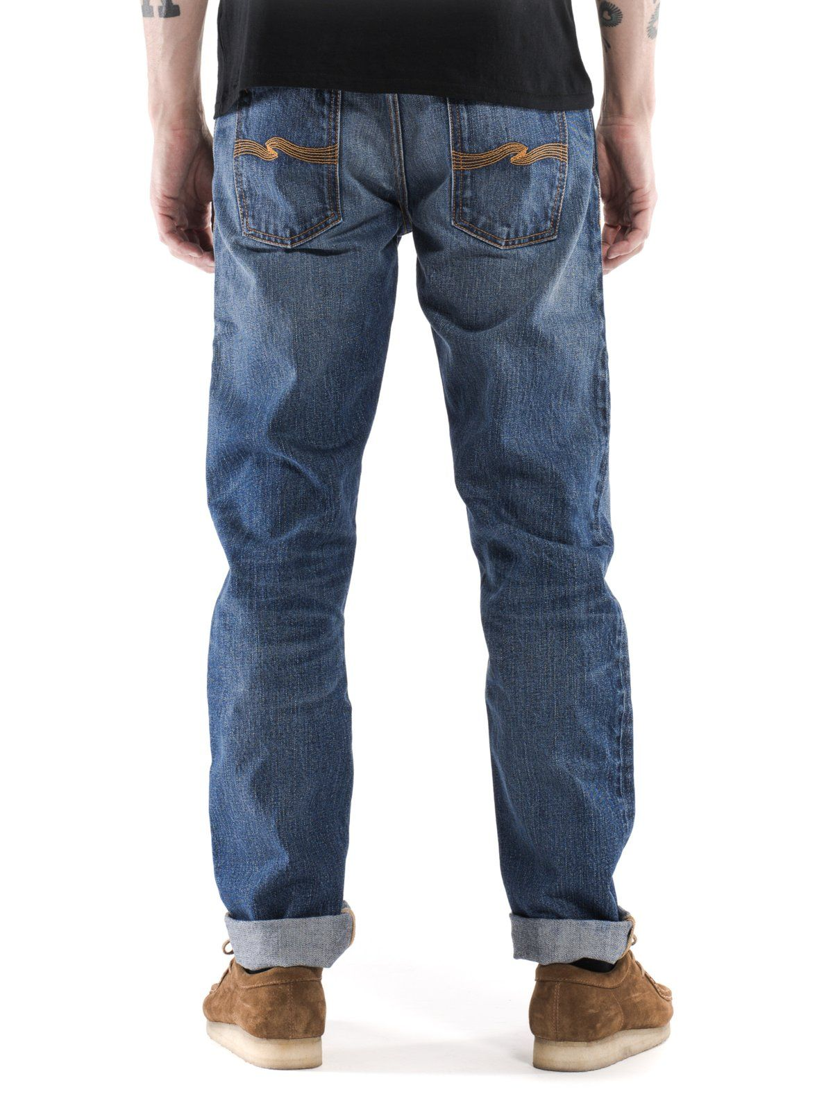 Nudie Jeans is the Naked Truth About Denim. Our line of jeans range from tight and slim to regular fits, all available in dry denim, black denim and pre-washed denim.