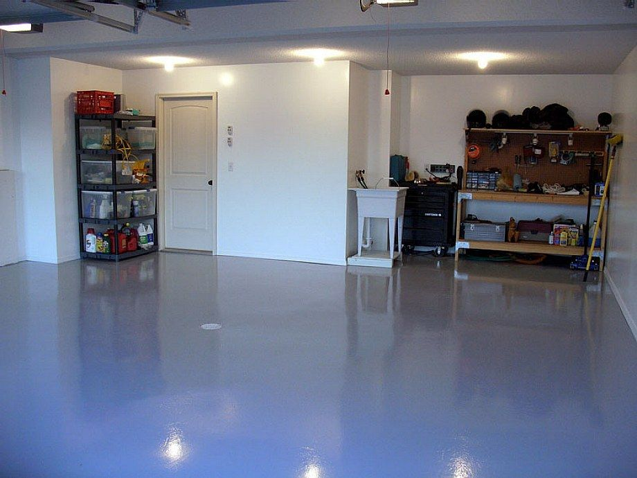 Garage Special Floor Drywall Painting Home Design Ideas