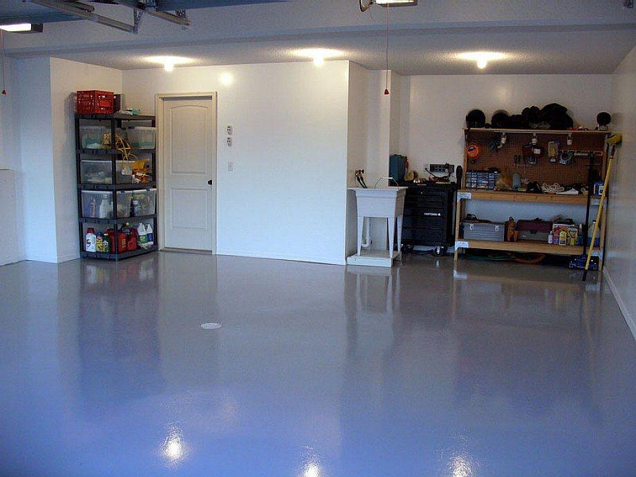 Garage Flooring Ideas | ... Garage: Special Garage Floor Drywall Painting U2013  Home