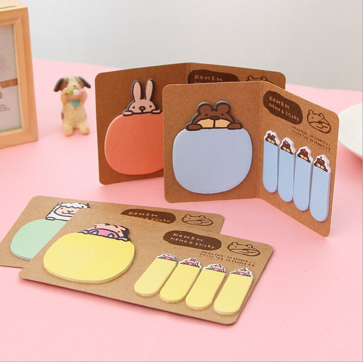 Cheap stationary wholesale, Buy Quality sticker rhinestone directly from China stickers creative Suppliers: 2 PCS/LotNew Style MiniMemo Pads Kawaii Sticky Notes School Stationary Creative Cute Animal SolidStic