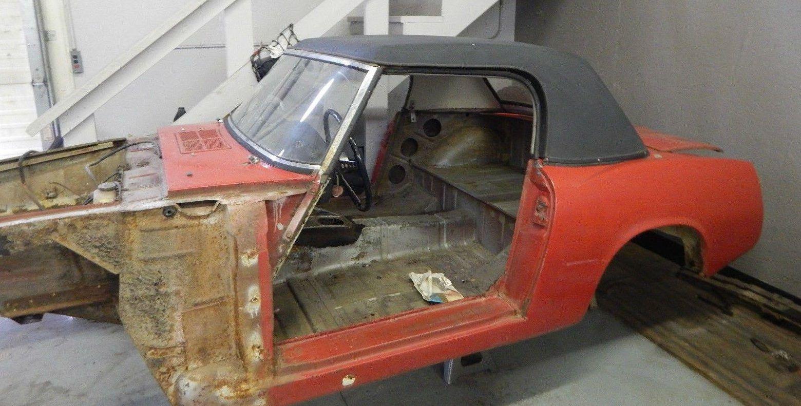Unfinished Business 1966 Datsun 1600 Roadster Datsun