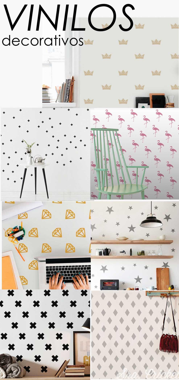 Vinilos decorativos de pared. Para decorar paredes, armarios ...