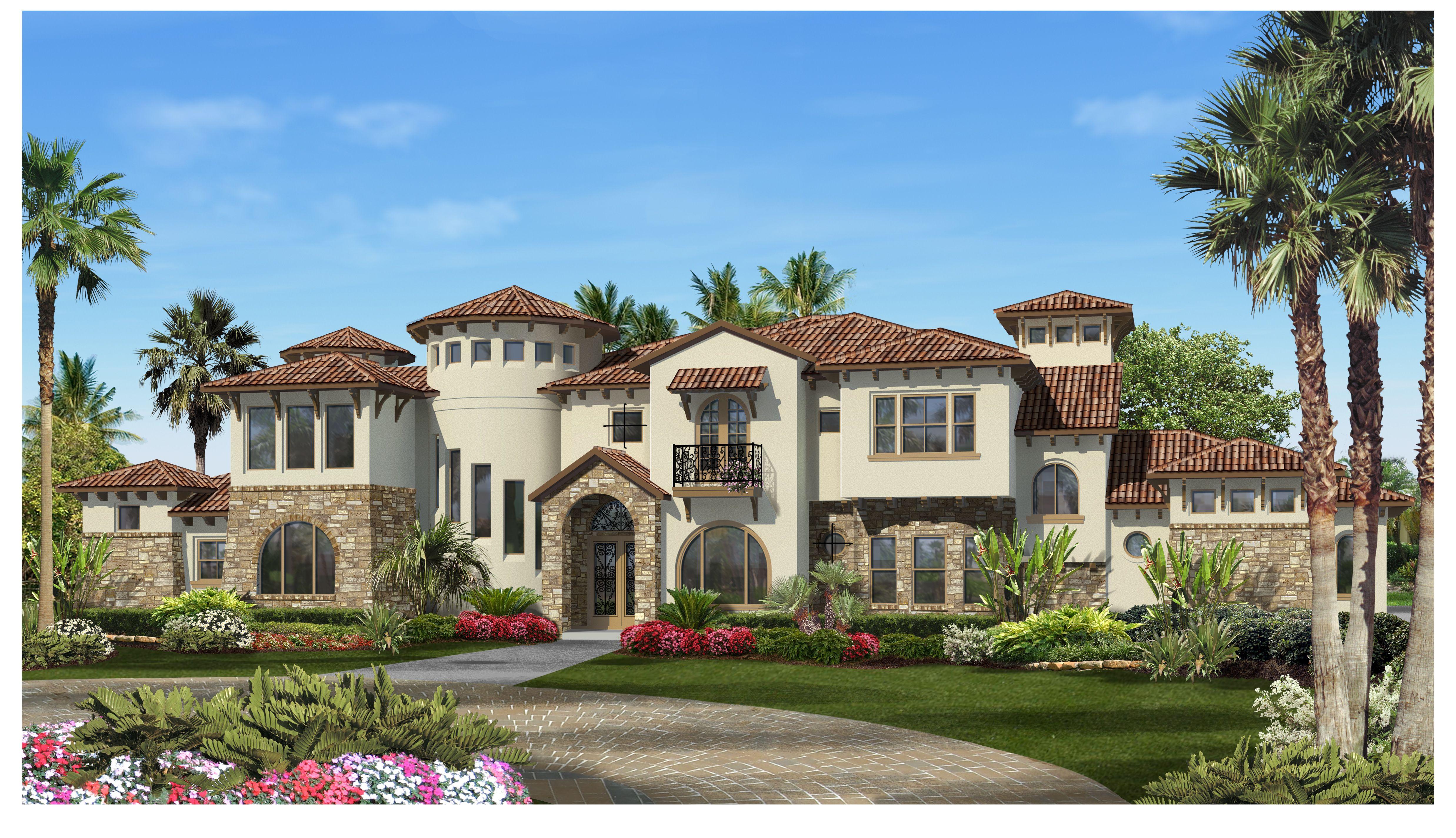 The Villa Lago – Luxury Home Floor Plans | Design Tech Homes | Texas ...