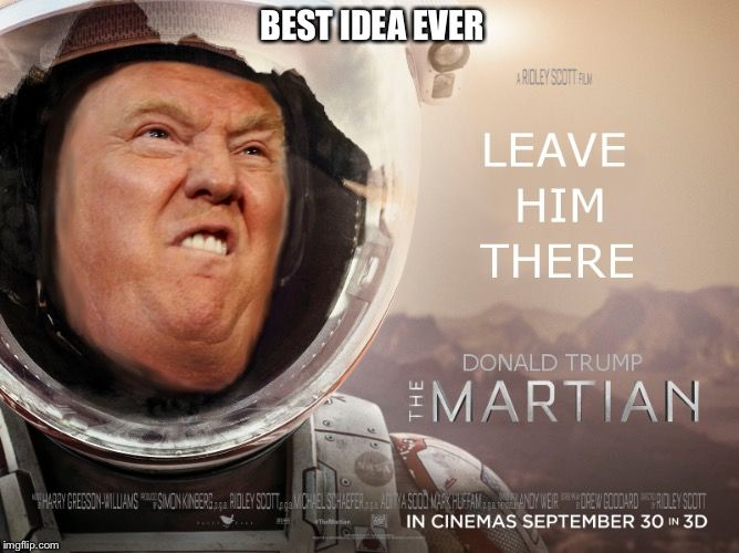 Funny Meme Yay : Let's do this if trump wins best thing for america best idea ever