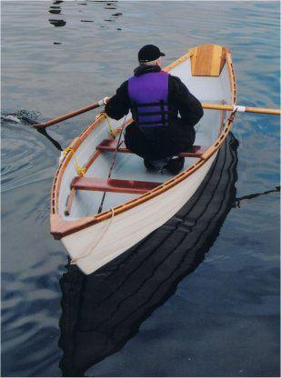 nova scotia row boats   The Spindrift Grand Banks Dory Rowboat   Art   Dory, Wooden boat plans ...