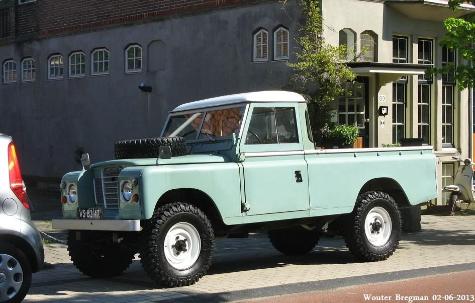 land rover 109 pick up 1967 land rovers cars and land. Black Bedroom Furniture Sets. Home Design Ideas