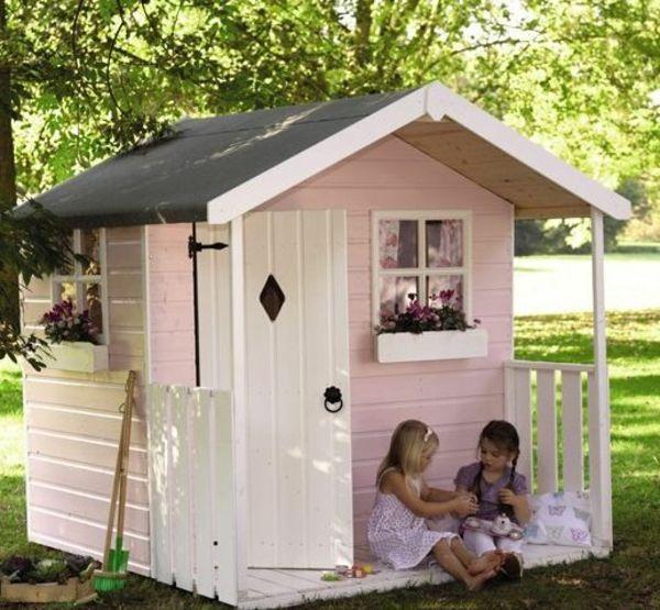 Holzhaus Im Garten Spielhaus Design