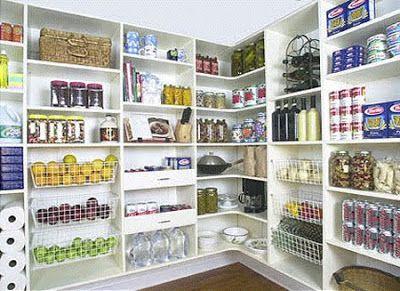 Image Result For Khloe Kardashian Pantry Pantry Shelving
