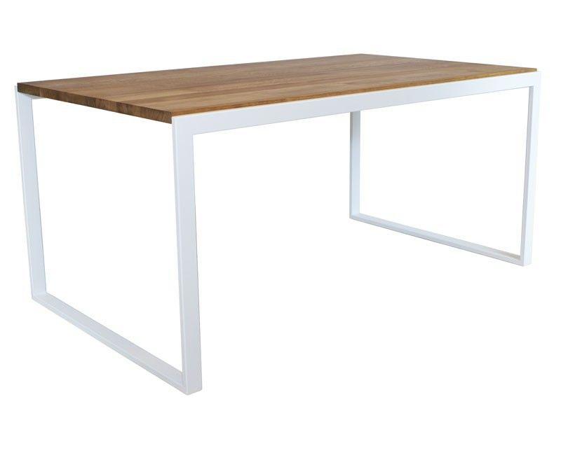 minimalistischer Tisch | Dachwohnung | Pinterest | Esstisch holz ...