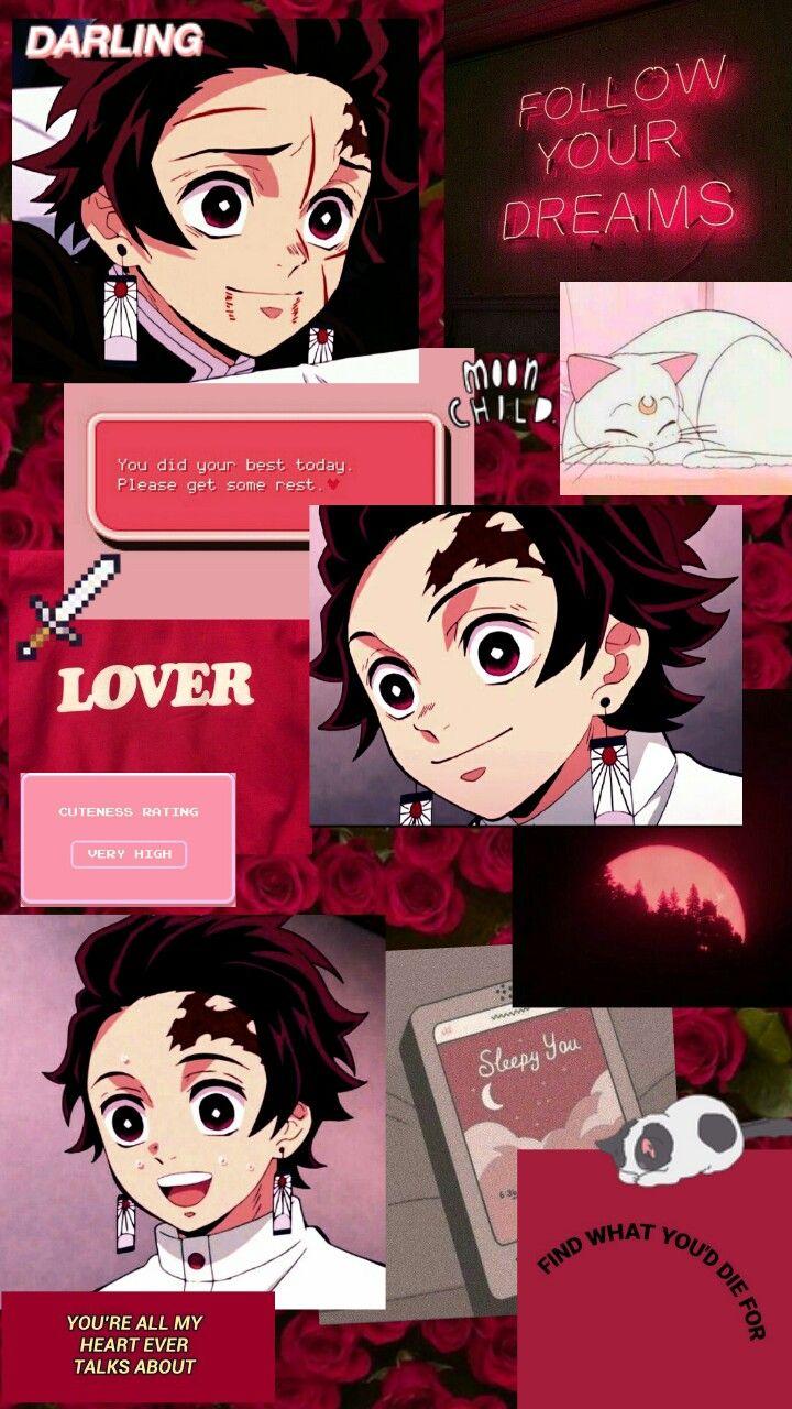 Tanjiro Kamado Aesthetic Cute Anime Wallpaper Anime Wallpaper Dream Anime