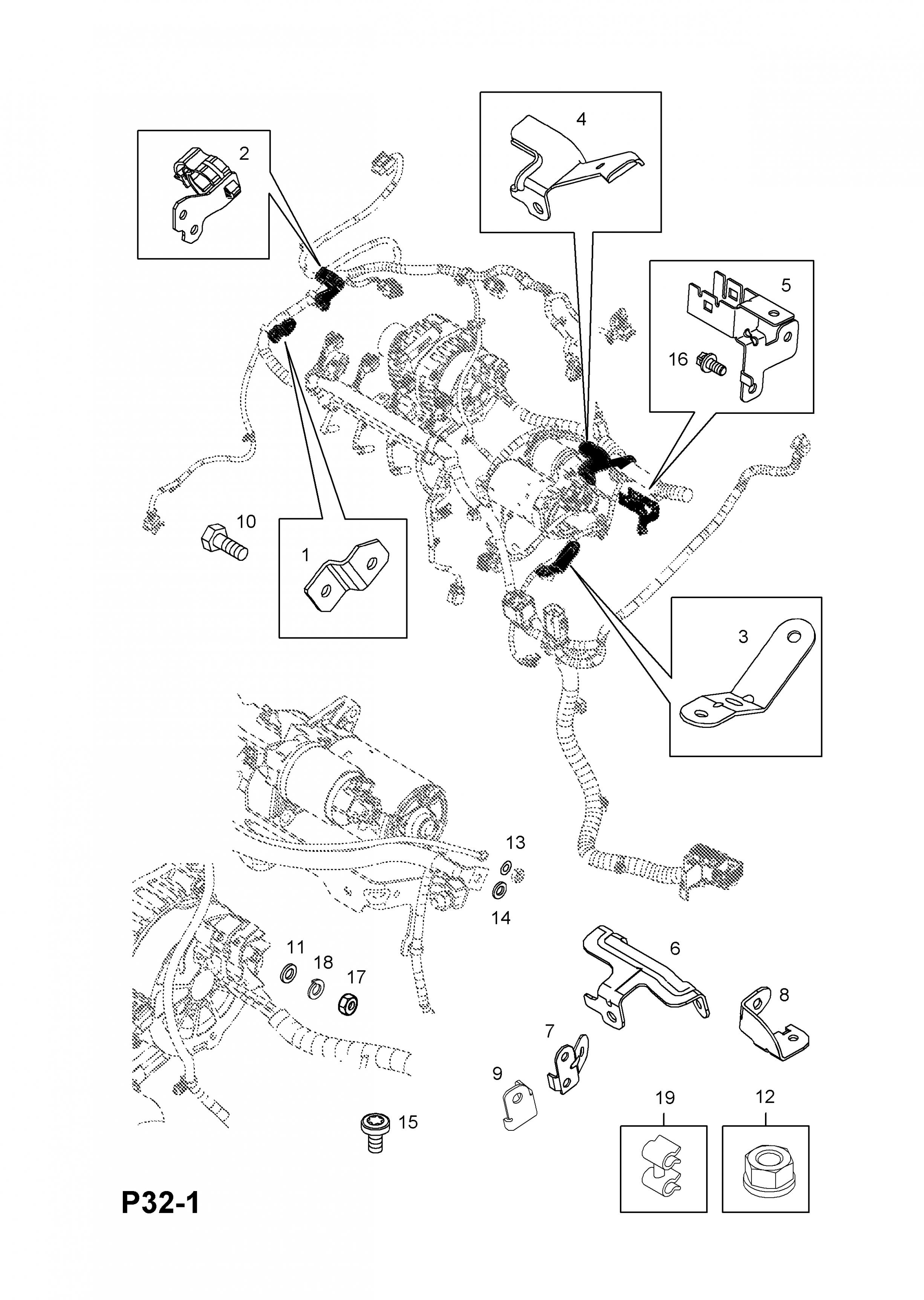 Astra H Engine Bay Diagram