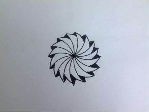 Uc Boyutlu Kolay Cizimler Karmasik Desen How To Draw 3d Cizimler Zentangle Desenler Zentangle