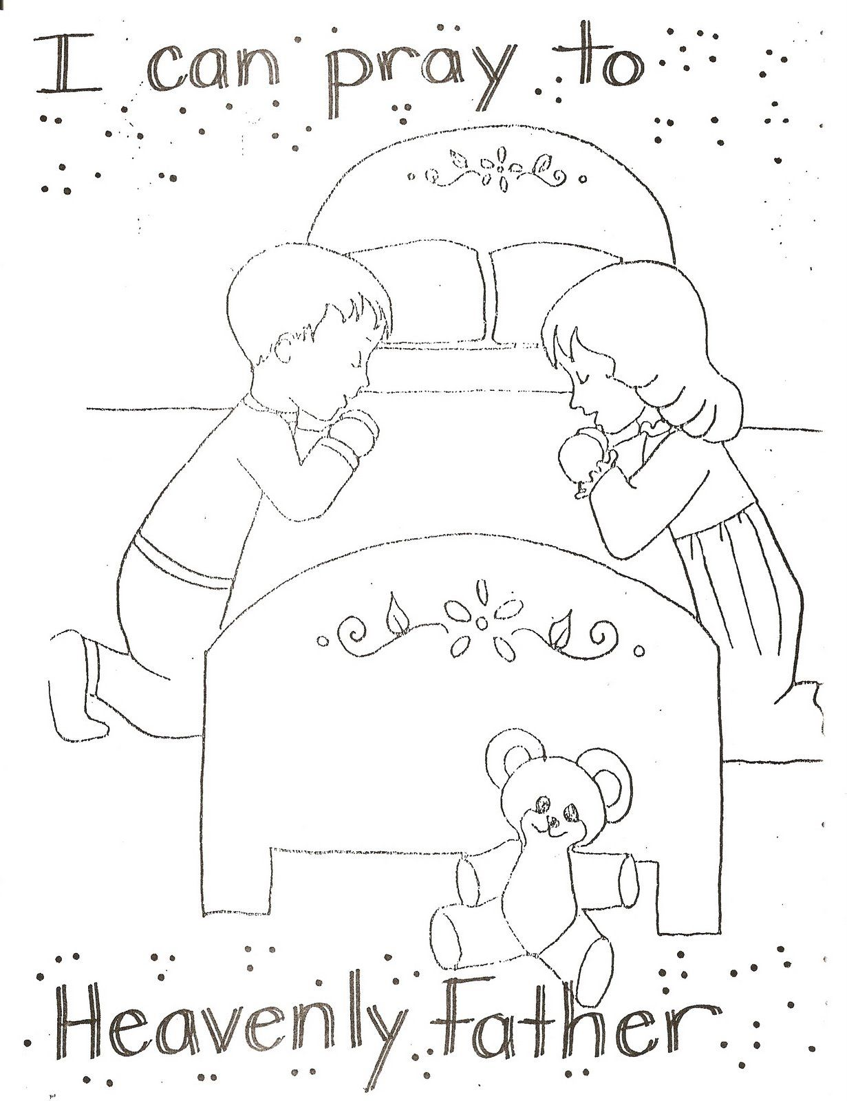 Primary Coloring Pages