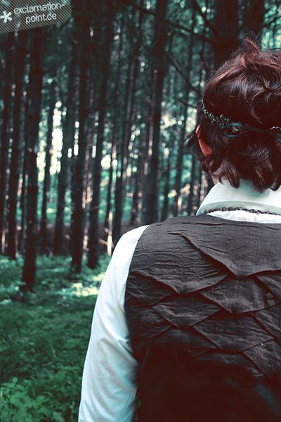 waistcoat with shadowfolds -- Nix für Lemminge {Märchen} Finale!
