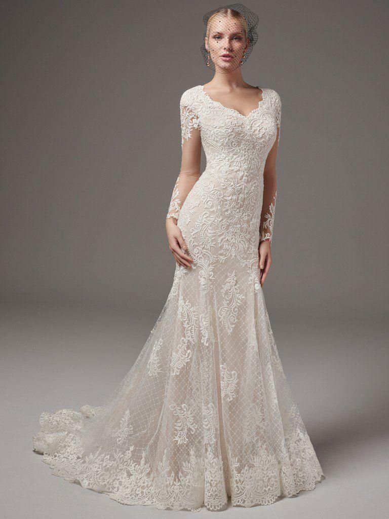 Sottero and midgley melrose lynette modest wedding dresses