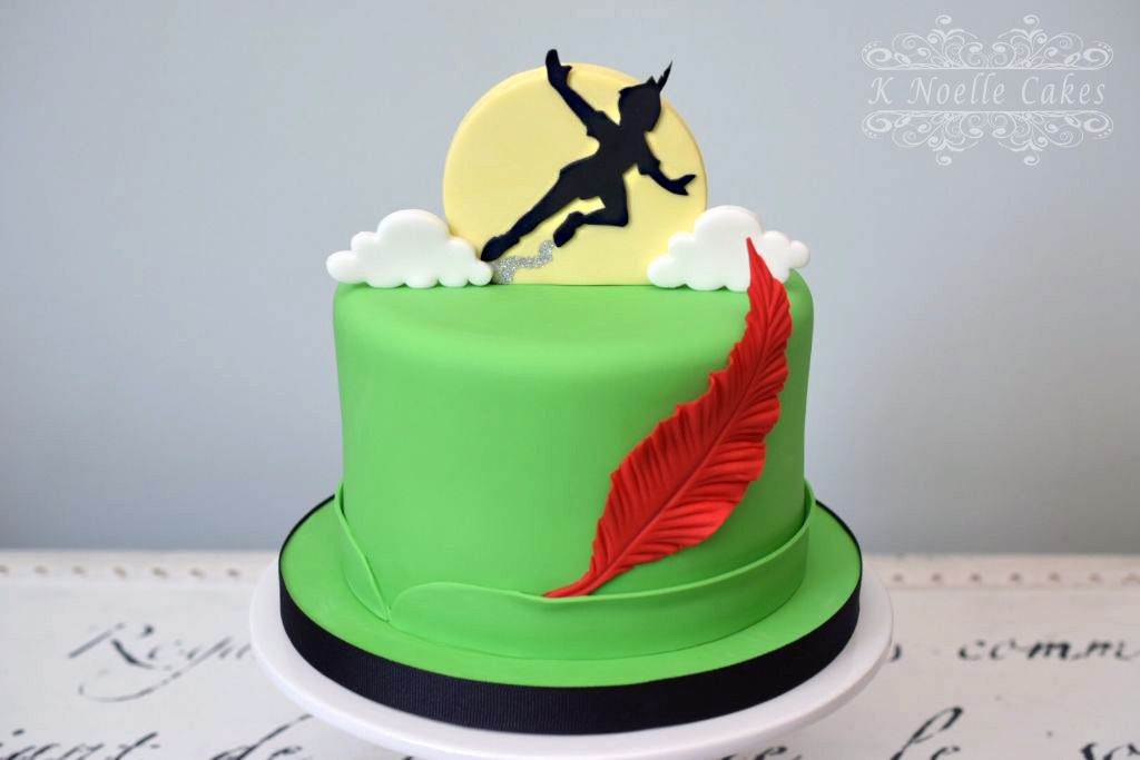 Peter Pan Theme Cake By K Noelle Cakes Peter Pan Cakes Peter