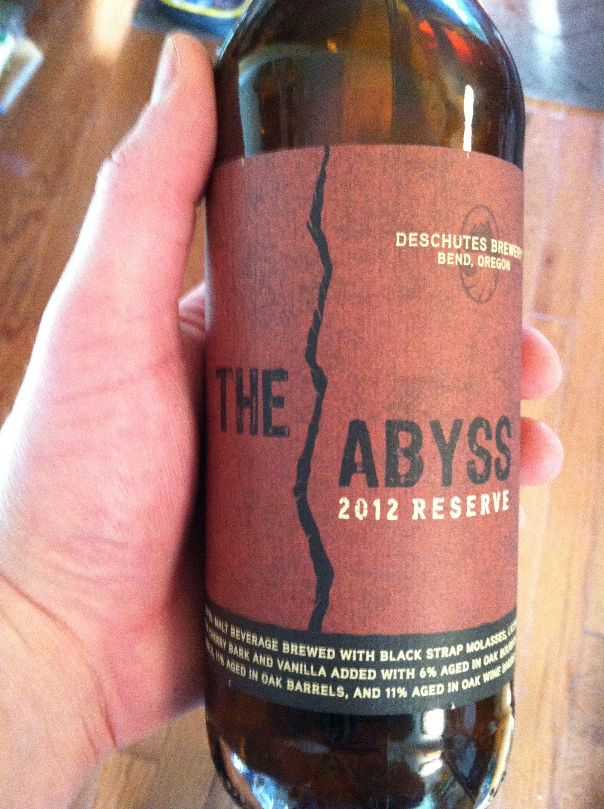Deschute S Abyss Good Stuff Greg Beer Bottle Wine Bottle Beer