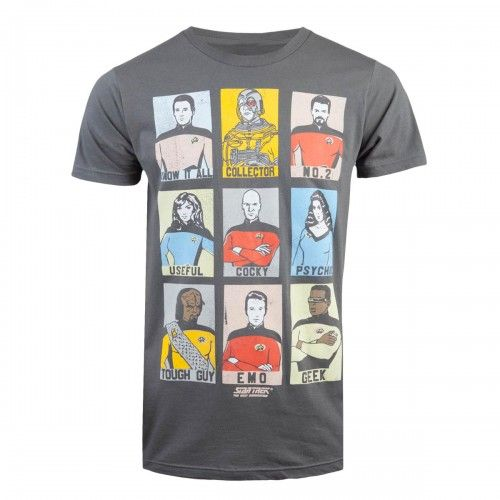 star trek tng personality grid t shirt useful one know it. Black Bedroom Furniture Sets. Home Design Ideas