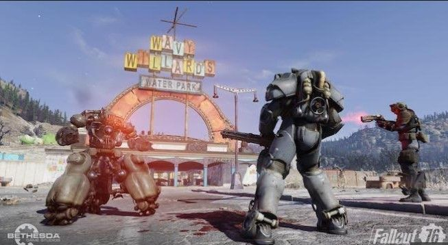 How to access your flashlight in Fallout 76   Xbox One Games Reviews