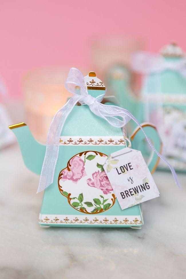Delightful Tea Party Favors Bridal Shower Tea Tea Bag Favors Diy Wedding Favors Cheap