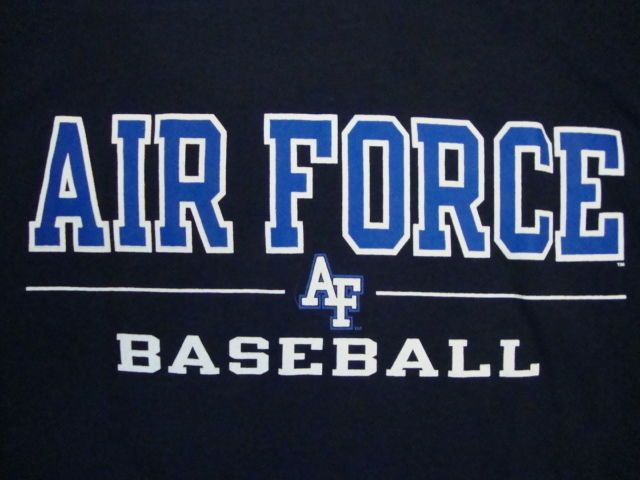 Ncaa Air Force Academy Falcons College Baseball Fan Champion Apparel T Shirt M Baseball Shirts College Baseball Baseball