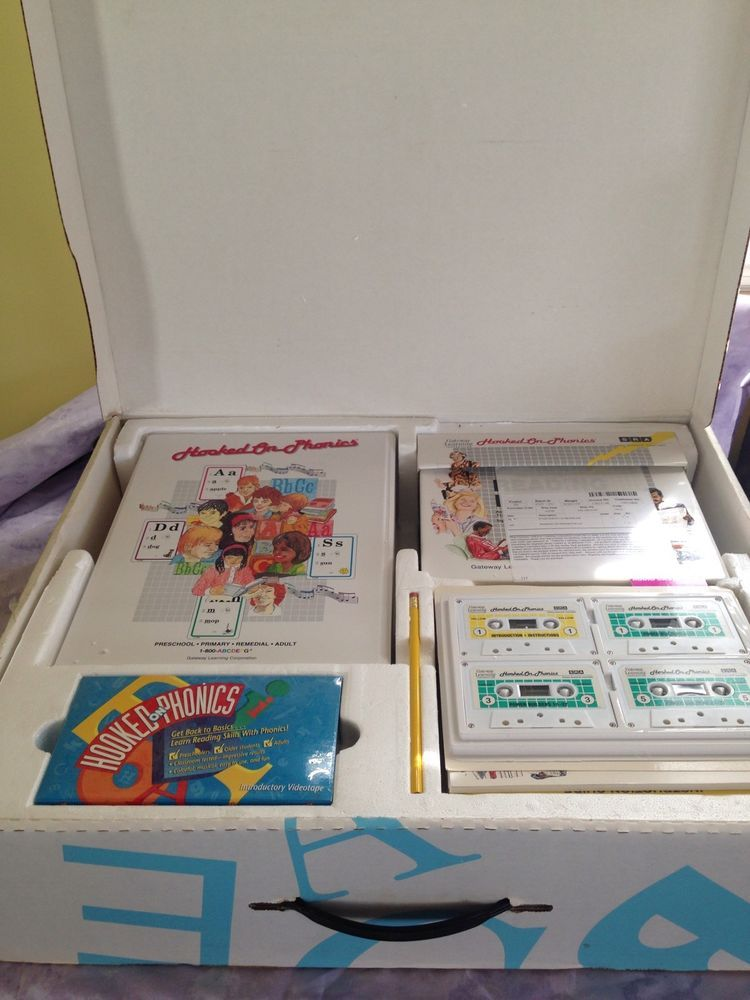 Hooked On Phonics Sra Reading Power Program Complete Set In Box