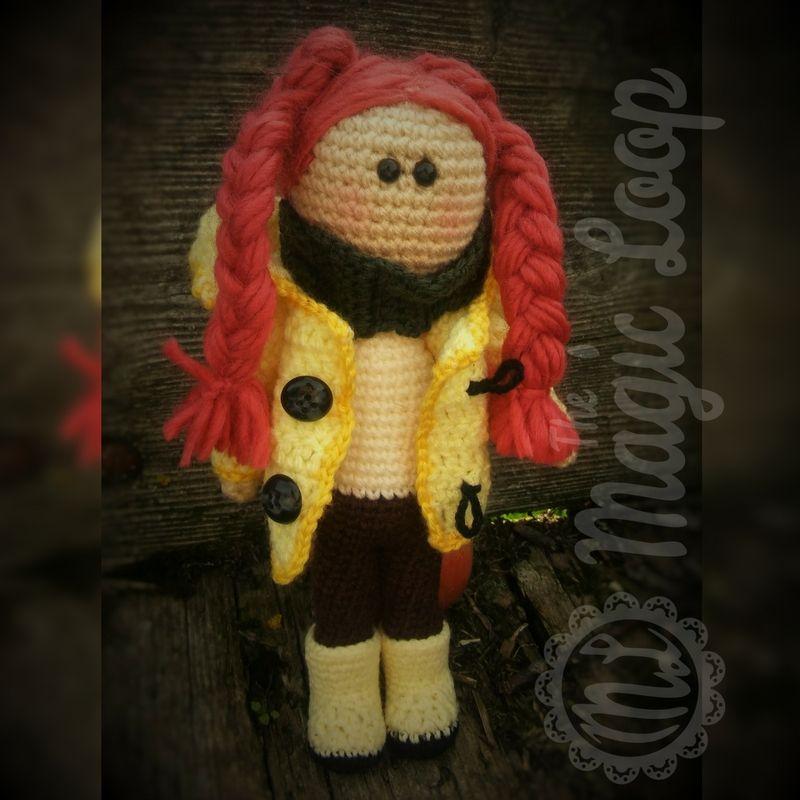 Autumm Doll - Free Amigurumi English Pattern | Muñecas | Pinterest ...