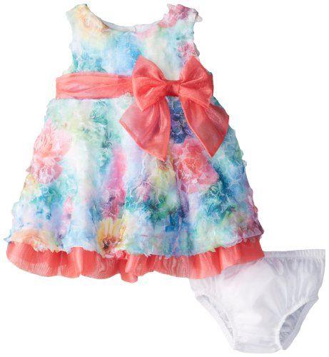 Bonnie Baby Baby-Girls Newborn Printed Bonaz Dress, Fuchsia, 3-6 Months Bonnie Baby http://www.amazon.com/dp/B00IKFVMKE/ref=cm_sw_r_pi_dp_S6qlvb0BTT388