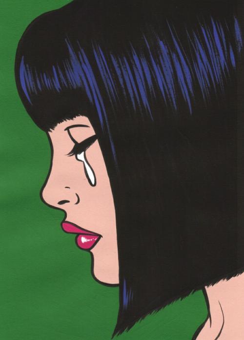 Göz yaşım........ | Sanat pop, Çizimler ve Figür çizimleri